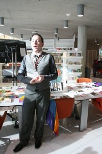 Lukasz Konieczka, Mosaic LGBT Youth Centre Manager