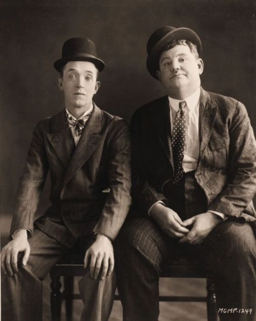 Laurel and Hardy hats